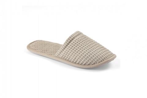 Papucii de casă MIA WAFFLE