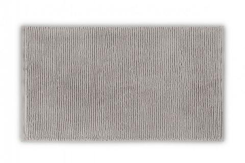 Prosop de baie SLIM RIB argintiu 100% bumbac pur