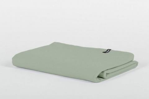 Cearsaf pastel verde bumbac ecologic Producator HOP DESIGN